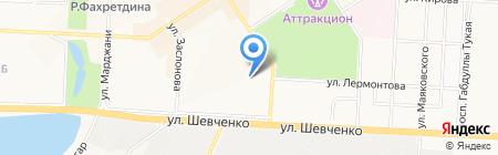 Альметьевская на карте Альметьевска