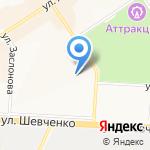 Магазин трикотажа и бытовой химии на карте Альметьевска