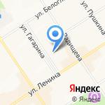 Адвокатская контора №1 на карте Альметьевска
