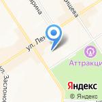 Единая Россия на карте Альметьевска