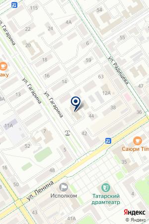 БЛАГОТВОРИТЕЛЬНЫЙ ФОНД МИЛОСЕРДИЕ на карте Альметьевска