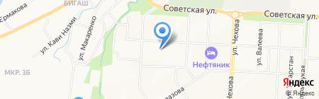Магазин хозяйственных товаров на ул. Чернышевского на карте Альметьевска