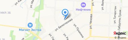 Альметьевский сервисный центр жилья на карте Альметьевска