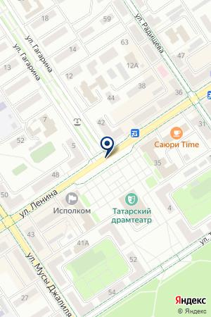 ОХРАННОЕ ПРЕДПРИЯТИЕ СТРАЖ на карте Альметьевска