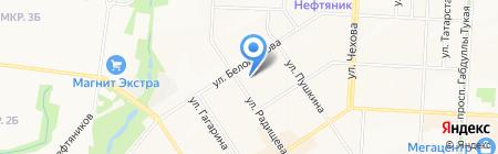 ТРИАВТО на карте Альметьевска