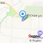Средняя общеобразовательная школа №13 на карте Альметьевска