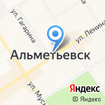 Дом книги на карте Альметьевска