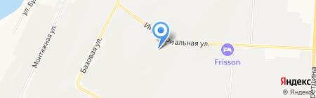 Кирпичный двор на карте Альметьевска