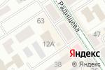 Схема проезда до компании Халяль в Альметьевске