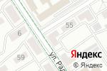 Схема проезда до компании Ателье в Альметьевске