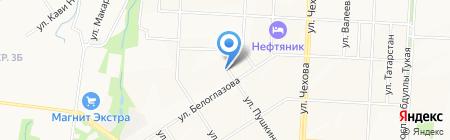 Магазин подарков на карте Альметьевска