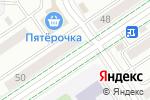 Схема проезда до компании Моника в Альметьевске