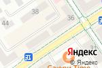 Схема проезда до компании Основа мебель в Альметьевске