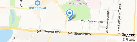 Модный Салон Кугушевых на карте Альметьевска