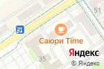 Схема проезда до компании Орфей в Альметьевске