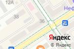 Схема проезда до компании Дружба в Альметьевске