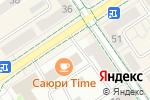 Схема проезда до компании Дари в Альметьевске