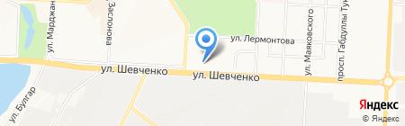 Модес на карте Альметьевска