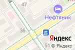 Схема проезда до компании Умырзая в Альметьевске