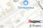 Схема проезда до компании Спецавтоматика-МП в Альметьевске