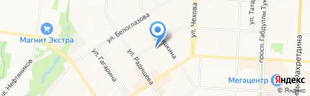 Профи на карте Альметьевска