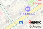 Схема проезда до компании Березка в Альметьевске