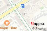 Схема проезда до компании Стоматология в Альметьевске