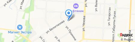 Банкомат АИКБ Татфондбанк на карте Альметьевска