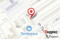 Схема проезда до компании Сириус в Альметьевске