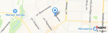 Центр ветеринарной помощи на карте Альметьевска