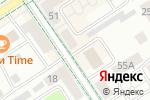 Схема проезда до компании Ням-Ням в Альметьевске