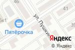 Схема проезда до компании Vesta в Альметьевске