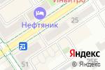 Схема проезда до компании Любимый книжный в Альметьевске