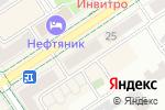 Схема проезда до компании Европласт в Альметьевске