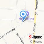 КАРЕ на карте Альметьевска