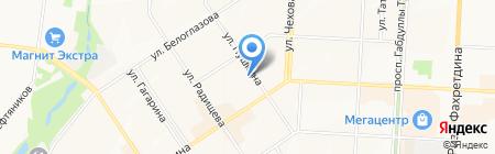 Детский сад №60 Дружная семейка на карте Альметьевска