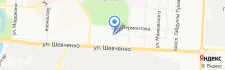 Опорный пункт полиции на карте Альметьевска