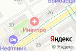 Схема проезда до компании Лаванда в Альметьевске