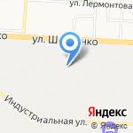 Альметьевские электрические сети на карте Альметьевска