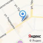 Оле на карте Альметьевска
