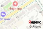 Схема проезда до компании Снежана в Альметьевске