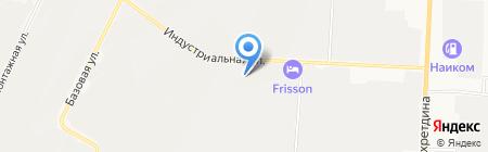 Керамзито-бетонный завод на карте Альметьевска