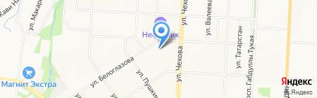 Детский сад №44 Росинка на карте Альметьевска