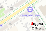 Схема проезда до компании Askona в Альметьевске