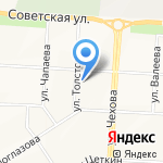 Нефтяник на карте Альметьевска