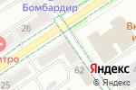 Схема проезда до компании ЕвроМода в Альметьевске