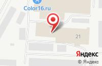 Схема проезда до компании Рузал в Альметьевске