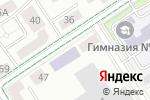 Схема проезда до компании Альфа-банк в Альметьевске