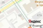 Схема проезда до компании De-jure в Альметьевске