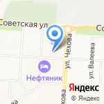 Дюймовочка на карте Альметьевска